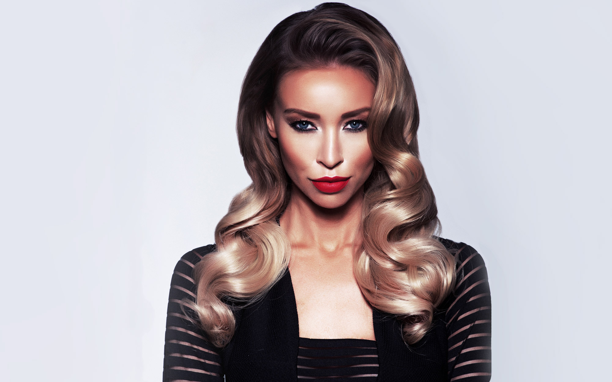 Lauren Pope Rehab hair extensions