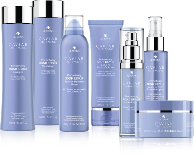 The Alterna Caviar Bond Repair Range